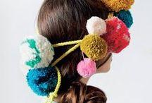 Wear Your Pompoms | Pompom Fashion / Pom up your wardrobe! Pom pom fashion trend & DIY ideas - pompom sandals, pompom bag, pompom accessories, pompom sweater, pompom dress
