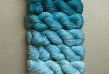 Yarn Color Palette / Beautiful yarn colors, our favorite yarns, seasonal color palette to inspire your yarn craft!