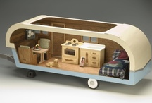 airstream & camper hopes and dreams / Maybe travel? maybe back yard playhouse? Maybe food truck? All of these things and more can be achieved with insane style! Will someone please bequeath me some caravan/camper/trailer sort of thing? / by Nancy S.