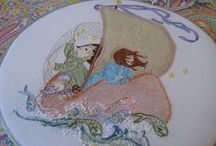 Stitchy Goodness / I love embroidery! Beautiful, whimsical, high art and low brow, I love it all and these are some of my favorite examples which include a vast array of different methods, each one wonderful in its own way. Welcome & enjoy!