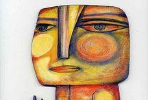 Art - Outsider Art / Outsider and Folk Art / by Robin Panzer Art