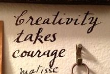 Inspiring words / by Cynthia Boudreau