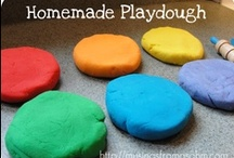Family: Fun - Homemade Goop & other Recipes / Looking for a recipe to make homemade bubbles, playdoh, moon dough, etc and so on....  it might be here!  / by Annissa Y