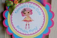 It's A Lalaloopsy Day! / Lalaloopsy party ideas for KK's 3rd birthday / by Kelli Jones