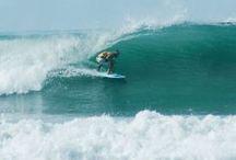Surfing style in Costa Rica / Surfing in Santa Teresa / by Pranamar Villas & Yoga Retreat