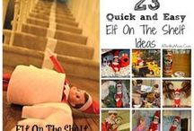 Elf on the shelf ideas / by Sam Savage