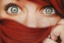 Redheads, Gingers & Coppertops / Throughout history, female redheads are worshiped for their beauty. Special thanks to Scotland, Ireland and Wales. Red hair, Redhead, Red Head, Copper Top, Ginger, Carrot Top, human beauty