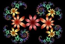 Fractals and Mandalas / Bringing together mathematics and nature
