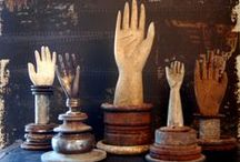 Give Me a Hand / wooden, metal, paper mache, porcelain....whatever. Hands represent creation to me.