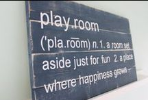 Playroom ideas / by Jennifer Fields