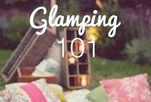Glamping / camping at its' finest.