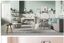 DBW  ✗   Verliefd op pastels / Kleuren bepalen de stemming in huis, hiermee laat je zien wat je mooi vindt. De samensmelting pasteltinten gecombineerd met een modern, landelijk of industrieel ingericht huis, zorgen voor een rustig, ordelijk en een ontspannende sfeer.