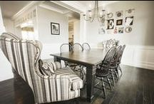 Dining by Kenn Gray Home / Transitional eclectic or modern glamour, Kenn Gray designs dining spaces that will impress every taste!