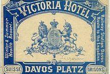 INSPIRAÇÃO   Vintage Label