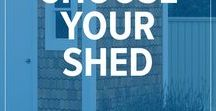 Shed Plans / Sheds are versatile, they can be used to store lawn-mowers, gardening supplies, power tools, and so much more. At TIMBER MART we've got a great assortment of shed plans so you can get exactly what you need!