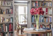 Library Room Ideas / Redoing our spare room, once my art studio, into a library/sitting room. I'm looking for a vibe, an inspiration to get the decorating juices going.