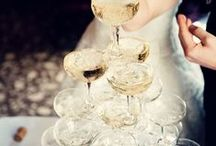 Zeestine's Champagne Wedding / Simple and elegant, with lots of personal charm. My dream wedding vision board.