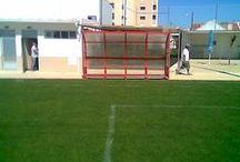 Futebol Clube Barreirense / Fornecimento de bancos de suplentes e balizas futebol 7