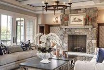 Living Room - firepalces