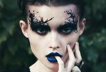 | Dark makeup | Women |