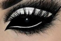 | Dark makeup | Eyes |
