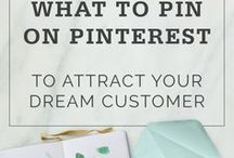Pinterest Tips for Business Owner / All tips, courses, guides, printables, everything to grow your Pinterest following, improve Pinterest feed and home quality, optimizing it to earn you money.