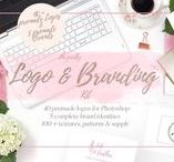 Feminine Branding & Logo Ideas / Brand board, color palette for your brand, color psychology, logo, slogan, anything that makes and speaks your brand.