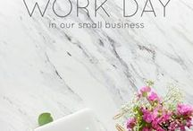 Productivity & Management for Women in Business / Tips to streamline your life as a mom, or non mom, career woman, business woman, entrepreneur, small business owner, creative, artist, designer, etc.