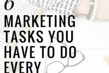 Marketing Tips for Creative Business / A wide range of marketing strategy, from blogging, ads, social media, in person, branding, logo. All that helps us small business creatives to get more sales.