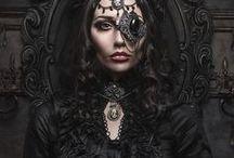 Dark Side / Satanic and gothic stuff.
