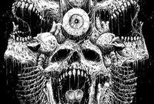 art / Dark, satanic art.