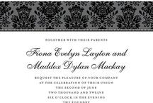 Gorge Formal Wedding Invitations