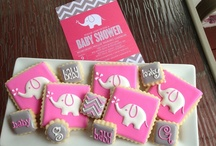 Elephant Baby Shower / Elephant baby shower! Perfect ideas for a wonderful shower theme. / by Ellison Reed
