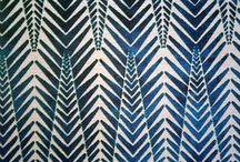 Wallpaper, textiles