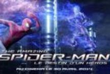 The Amazing Spider-Man 2 / The Amazing Spider-Man, un film de Marc Webb avec Andrew Garfield, Emma Stone, Rhys Ifans.  Au cinéma 30 avril 2014 !