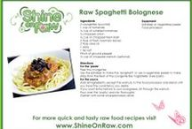 Raw Food Recipe Cards / Delicious raw food recipes cards for you to download and keep forever