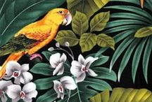 Pattern Love-Botanicals & Birds / Gorgeous Flowers and Feathered Friends