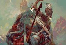 Art of Peter Mohrbacher / http://www.vandalhigh.com/