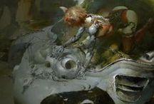 Art of Ruan Jia / http://ruanjia.deviantart.com/