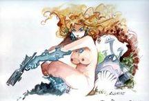 Art of Azpiri / http://azpiri.free.fr/