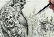 Art of Mike Butkus / http://mikebutkus.net - https://www.facebook.com/mike.butkus.9