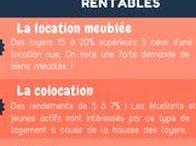 Infographie immobilier / Découvrez des infographies sur le thème de l'investissement locatif et de l'état de l'immobillier en France, réalisées par la société rendementlocatif.  www.rendementlocatif.com