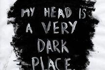 My Mind / A mess of sad pins