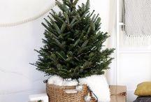 Weihnachtsdeko / Weihnachten rückt näher - Eine paar kleine Anregungen, für modern, weihnachtlich eingerichtete Räume im skandinavischen Stil