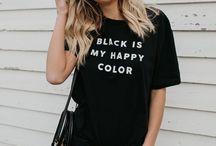 All Black Looks