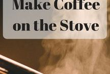 Ways to Make Coffee / There are so many different ways to make coffee. Here are some of the best ways you'll ever try along with a few random methods you may or may not ever actually try.