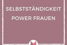Selbständigkeit   Power Frauen / Auf dieser Pinnwand geht es um das Thema Selbstständigkeit mit Fokus auf Frauen, die ihr eigenes Business auf die Beine gestellt haben. Erfahre über die Pins hilfreiche Inputs und Tipps von Power Frauen aus ihrer Perspektive. #selbstständigkeit #powerfrauen #gruenden #unternehmerin