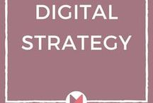 Digital Strategy | Marketing Strategy / A digital strategy is the foundation for a successful business. This board is a collection of tips and ideas on how to set up a #digitalstrategy and leverage your potential. #marketingstrategy #strategicplanning
