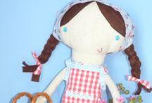 Coração de pássaro / Craft & handmade goodies softie and handmade doll
