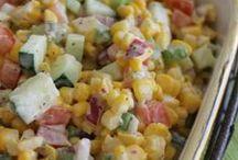 salads, vegeatable dishes / by Berneda Miller